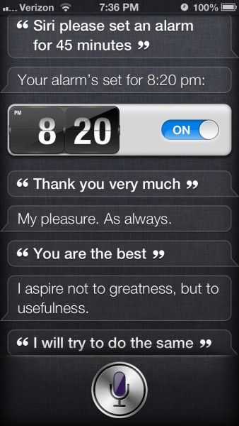 Conversation with Siri - #3
