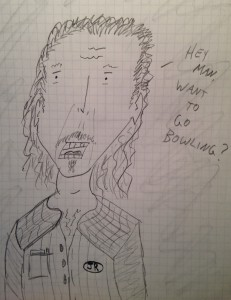 """""""JR, Bowler""""  (Click to see the big picture.)"""