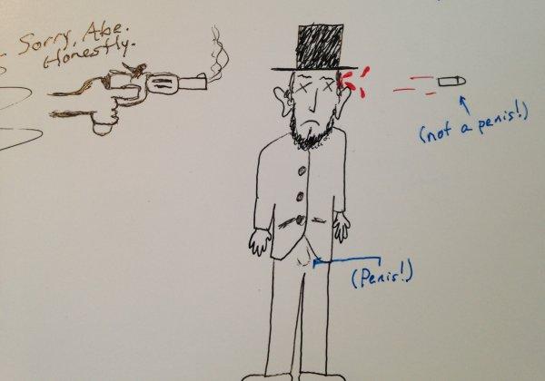 Sorry, Abe.