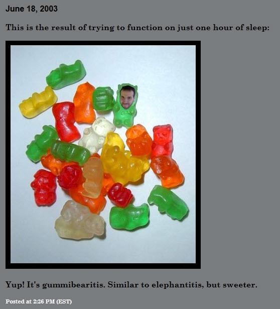 Gummibearitis