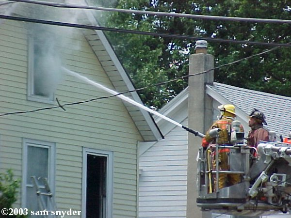 Fire in Washington, NJ - July 14, 2003 (Photos)