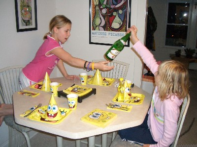 A SPONGEBOB PARTY
